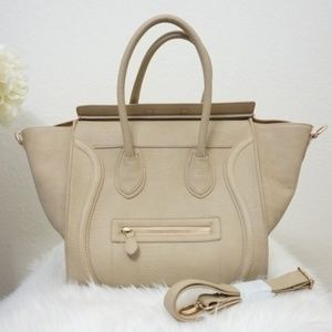 Handbags - Luggage Winged Structured Bag